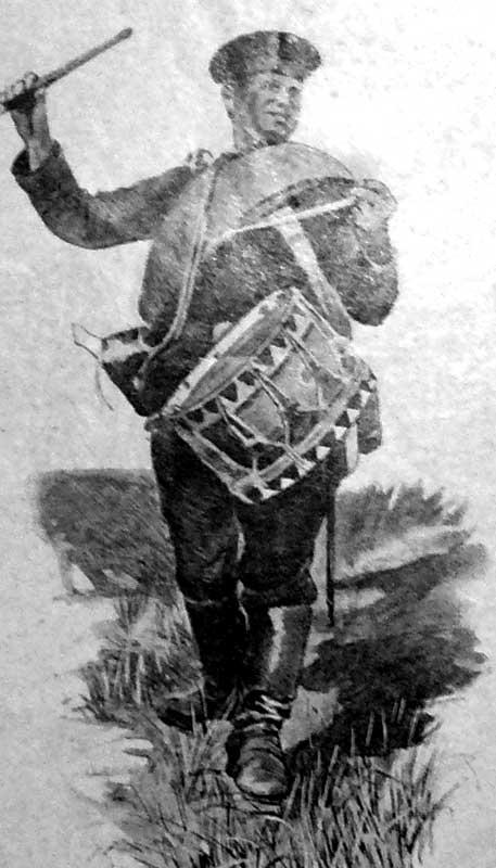 Рядовой армейского пехотного полка в